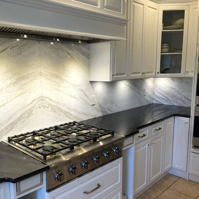 Backsplash Volakas Marble (DSP Thin Marble)