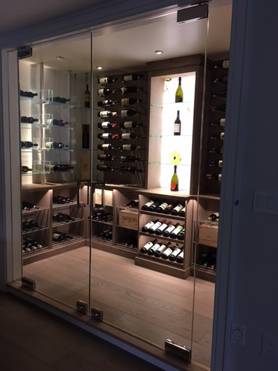 Wine Cellar backlit Onyx (DSP Thin Stone)
