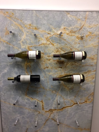 Wine Rack (DSP Thin Marble) White Onyx